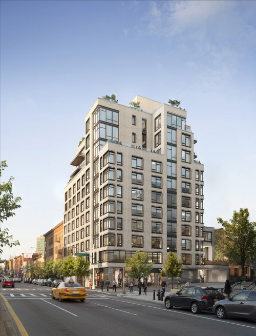 11-Story, 44-Unit Mixed-Use Condo Project Rises to Fifth Floor at 613 Baltic Street, Park Slope